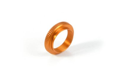 XRAY ALU SHOCK ADJUSTABLE NUT - ORANGE - 378040-O