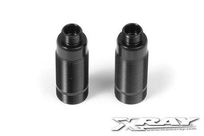 XRAY Alu Rear Shock Body - Hard Coated (2) - 368220