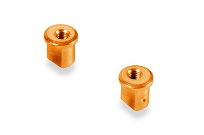 XRAY ALU ECCENTRIC BUSHING 0.5MM - ORANGE (2) - 372317-O