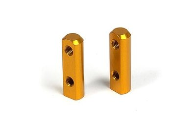 XRAY ALU SERVO MOUNT - ORANGE (2) - 306200-O