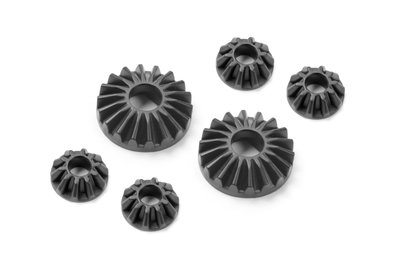 XRAY COMPOSITE GEAR DIFF BEVEL & SATELLITE GEARS (2+4) - 374930