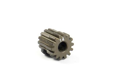 XRAY Narrow Pinion Gear Alu Hard Coated 14T : 48 - 305914
