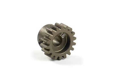 XRAY Narrow Pinion Gear Alu Hard Coated 18T : 48 - 305918