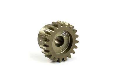 XRAY Narrow Pinion Gear Alu Hard Coated 20T : 48 - 305920
