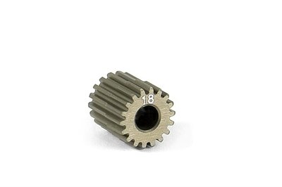 XRAY Narrow Pinion Gear Alu Hard Coated 18T : 64 - 305968