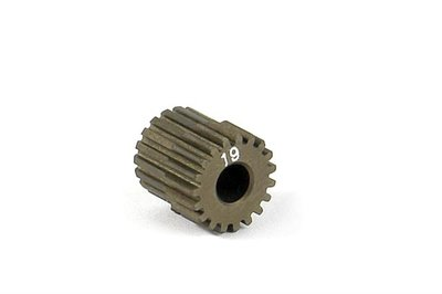 XRAY Narrow Pinion Gear Alu Hard Coated 19T : 64 - 305969