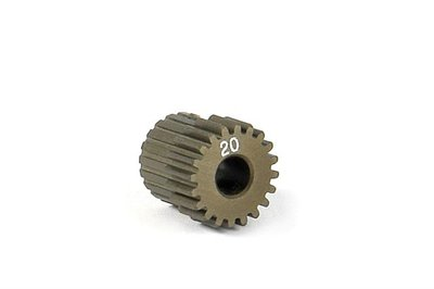 XRAY Narrow Pinion Gear Alu Hard Coated 20T : 64 - 305970