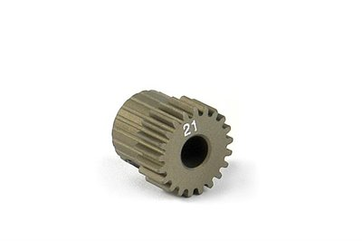 XRAY Narrow Pinion Gear Alu Hard Coated 21T : 64 - 305971