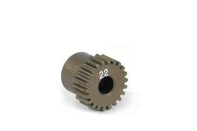 XRAY Narrow Pinion Gear Alu Hard Coated 22T : 64 - 305972