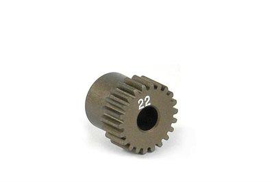 XRAY Narrow Pinion Gear Alu Hard Coated 22T : 64 - 305972