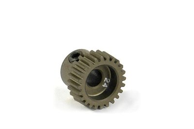XRAY Narrow Pinion Gear Alu Hard Coated 24T : 64 - 305974