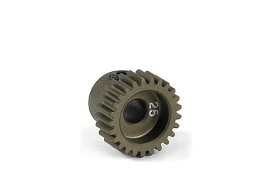 XRAY Narrow Pinion Gear Alu Hard Coated 25T : 64 - 305975