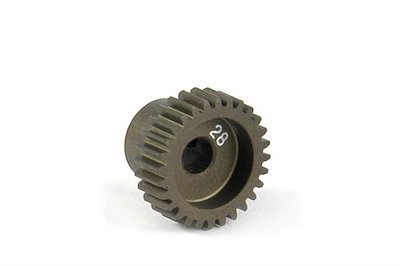 XRAY Narrow Pinion Gear Alu Hard Coated 28T : 64 - 305978