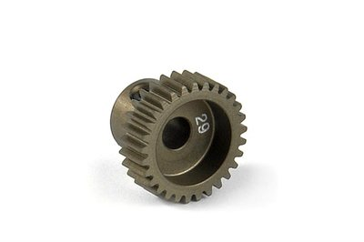 XRAY Narrow Pinion Gear Alu Hard Coated 29T : 64 - 305979