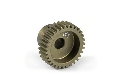 XRAY Narrow Pinion Gear Alu Hard Coated 31T : 64 - 305981