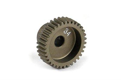 XRAY Narrow Pinion Gear Alu Hard Coated 34T : 64 - 305984