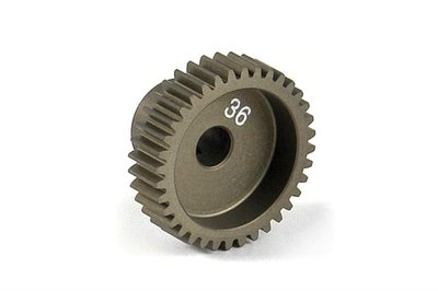 XRAY Narrow Pinion Gear Alu Hard Coated 36T : 64 - 305986