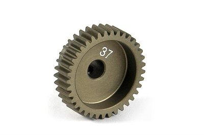 XRAY Narrow Pinion Gear Alu Hard Coated 37T : 64 - 305987