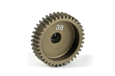 XRAY Narrow Pinion Gear Alu Hard Coated 38T : 64 - 305988