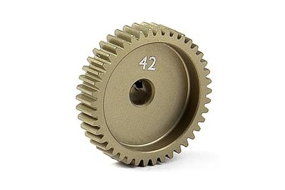XRAY Narrow Pinion Gear Alu Hard Coated 42T / 64 - 305992