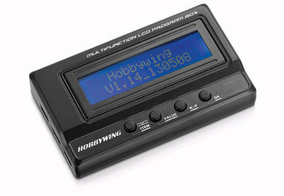 Hobbywing Multifunction LCD Program Box - 30502000