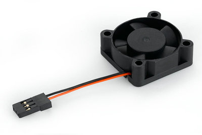Hobbywing Fan, 30x30x10, 10000rpm@5V, waterproof, fits EZRUN MAX8, EZRUN-WP-SC8, - 86080080