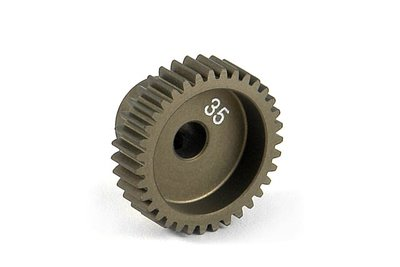 XRAY Narrow Pinion Gear Alu Hard Coated 35T : 64 - 305985