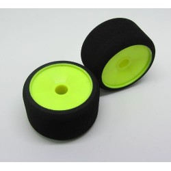 MobGums 1/12 dishers front tyres green compound for ETS carpet new! - MOBFxxx