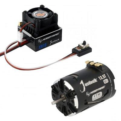 Hobbywing Combo XR10 JS4 Black G2.1, 2950kv, 13.5T - 38020240