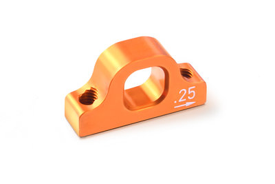 XRAY ALU LOWER 2-PIECE SUSPENSION 0.25 ECCENTRIC HOLDER - 303718-O