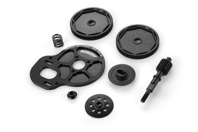 XRAY SHORT 2-PAD SLIPPER CLUTCH SET - SHOCKS IN FRONT - 324000