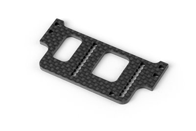 XRAY X1'19 GRAPHITE REAR WING MOUNT 2.5MM - 373036