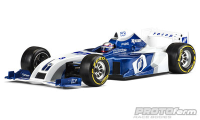 PROTOFORM F26 Clear Body for 1:10 Formula 1 - 1561-22