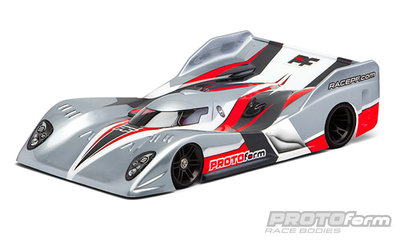PROTOFORM Strakka-12 PRO-Light Weight Clear Body for 1:12 On-Road Car - 1614-15