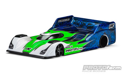 PROTOFORM BMR-12 PRO-Light Weight Clear Body for 1:12 On-Road Car - 1615-15