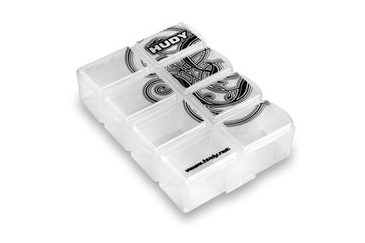 HUDY TINY HARDWARE BOX - 8-COMPARTMENTS - 298018