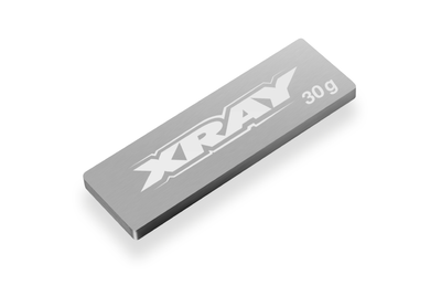 XRAY PURE TUNGSTEN CENTER CHASSIS WEIGHT 30g - 309856