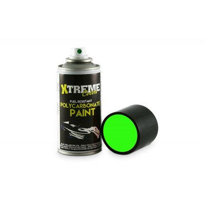 Xtreme Lexan RC PAINT 150ml - Size : Fluo Green - 1008