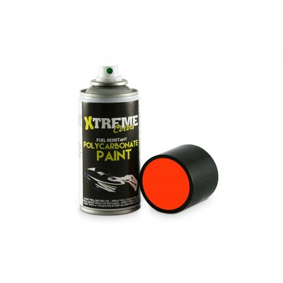 Lexan RC PAINT 150ml - Size : Fluo Red - 1005