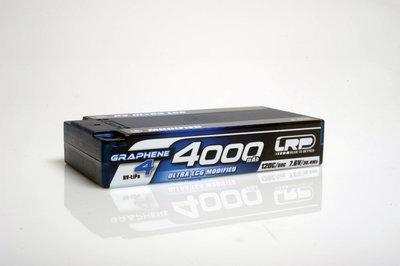LRP HV Ultra LCG Modified Shorty GRAPHENE-4 4000mAh Hardcase Akku - 7.6V LiPo - 120C/60C - 431273