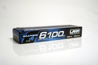 LRP HV LCG Stock Spec GRAPHENE-4 6100mAh Hardcase Akku - 7.6V LiPo - 135C/65C - 431281