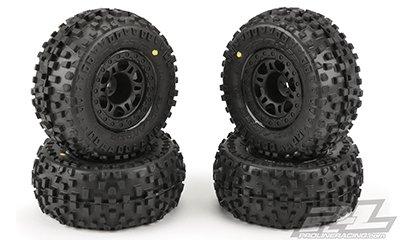 "Badlands SC 2.2""/3.0"" Tires MTD (4) Slash 2wd F/R"
