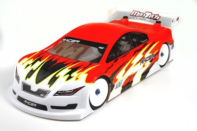 Mon-Tech Racer Touring Electric Car Clear Body 190mm - 017-008