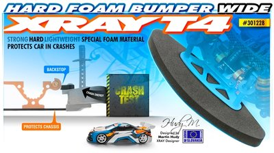 T4 FOAM BUMPER WIDE - HARD - 301228