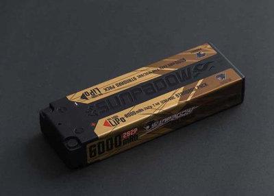 Sunpadow Lipo Battery 6000mAh 7,4V 2S 120C/60C - 5660041