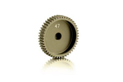 XRAY Narrow Pinion Gear Alu Hard Coated 47T / 64 - 305997