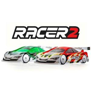 Mon-Tech Racer2 Touring Electric Car Clear Body 190mm - 019-006