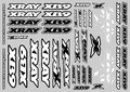 Xray Xb9 Sticker For Body - White, X397358 - 397358