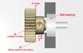 AXON Pinion Gear 64P 50T