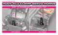 HUDY ALU CLAMP SERVO HORN - HITEC - 24T - 293408